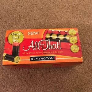 Remington All That curlers